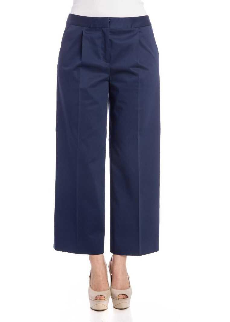 Pantaloni Femei Moschino Stretch Cotton Trousers B