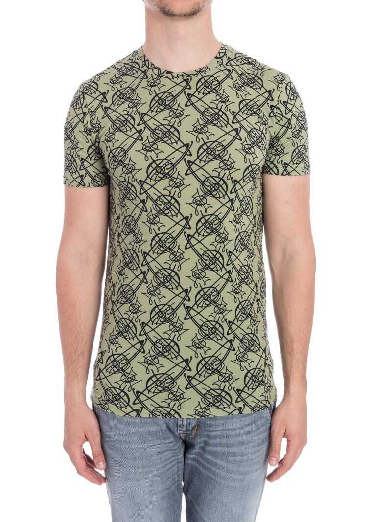 Vivienne Westwood T-Shirt Green imagine