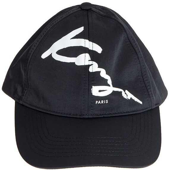 Kenzo Kenzo Signature Cap Black