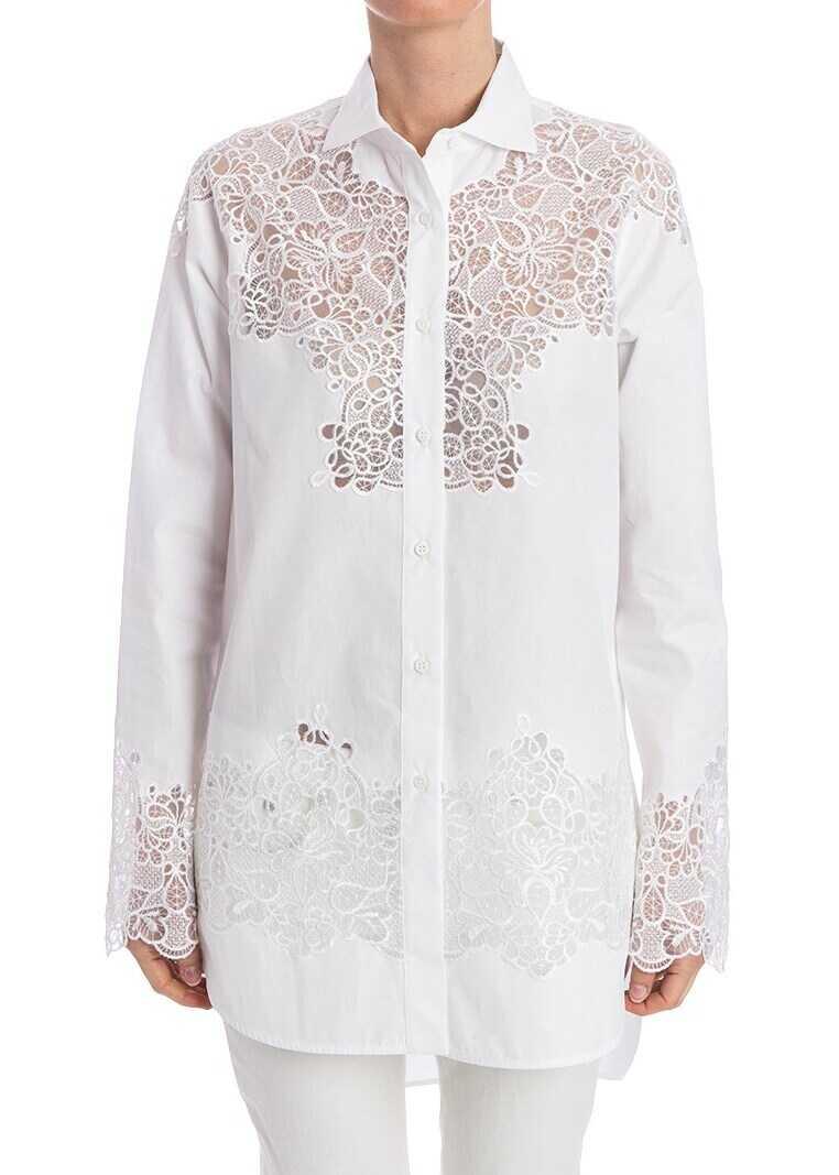Ermanno Scervino Cotton Shirt White