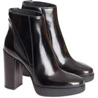 Ghete & Cizme Leather Ankle Boots Femei