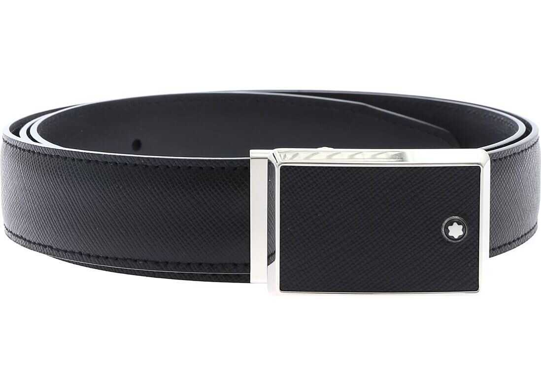 Montblanc Contemporary Line Belt Black
