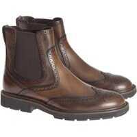 Ghete Brogue Ankle Boots Barbati