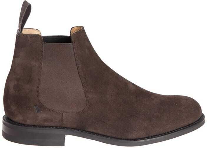Church's Redenham Ankle Boots ETC035 9VE F0AEV EBONY Brown imagine b-mall.ro