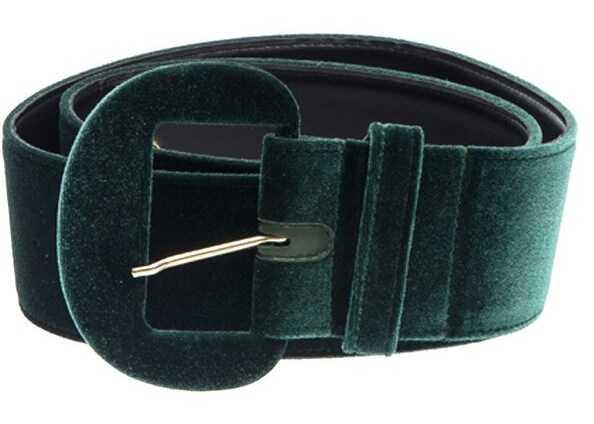 Blugirl Velvet Belt Green