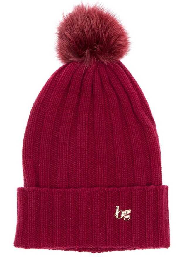 Blugirl Wool Blend Hat Red