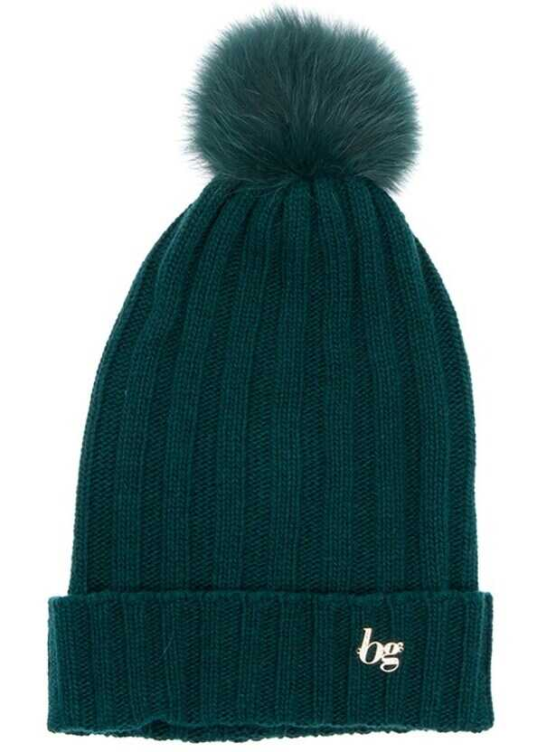 Blugirl Wool Blend Hat Green