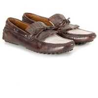 Mocasini Leather Moccasin Barbati