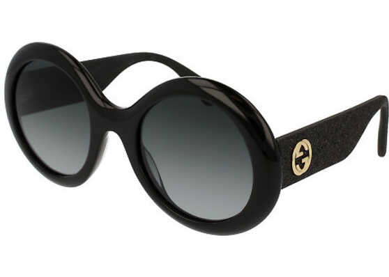 Gucci GG0101S 001 BLACK BLACK GREY