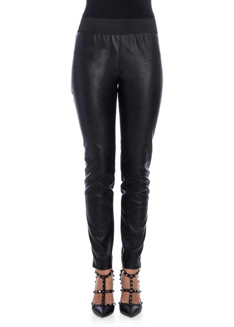 adidas by Stella McCartney Eco-Leather Leggings Black