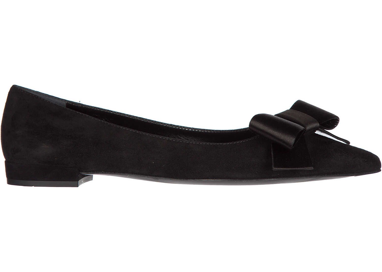Prada Flats Ballerinas Black