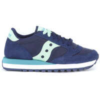 Tenisi & Adidasi Jazz Blue Washed Suede And Nylon Sneaker Femei