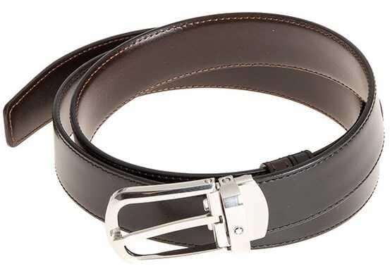 Montblanc Reversible Belt Black