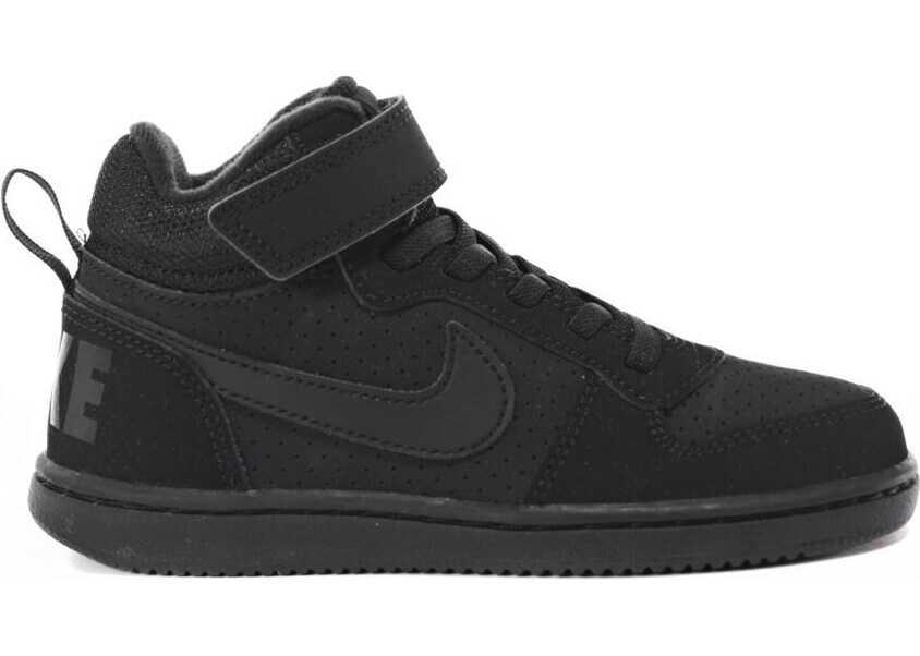 Nike Court Borough Mid Psv Black