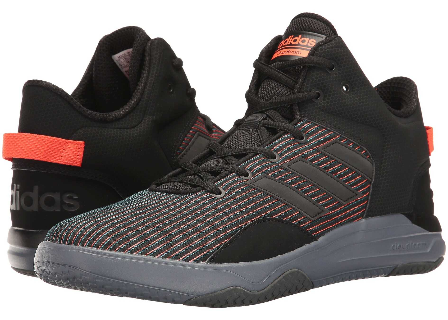 Adidas Cloudfoam Revival Mid* Core Black/solar Red