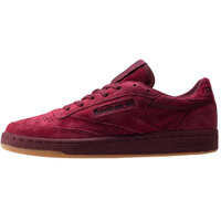 Tenisi & Adidasi Club 85 Tg Trainers In Burgundy* Barbati