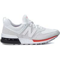Tenisi & Adidasi New Balance Sneaker New Balance 574 In White Suede And Mesh