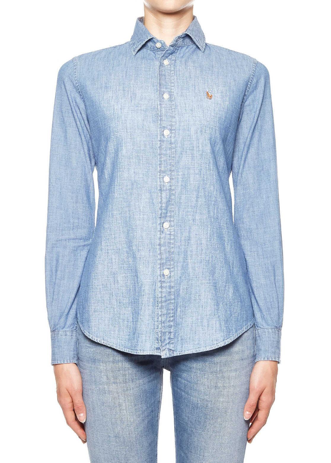 Ralph Lauren Cotton shirt* Blue
