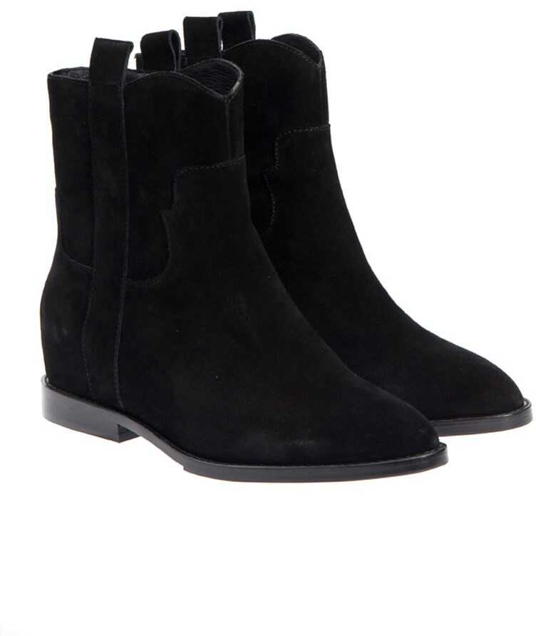 ASH Jane Ankle Boots Black