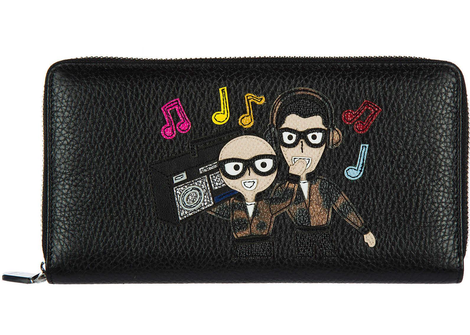 Dolce amp; Gabbana Card Bifold Black
