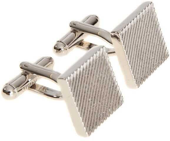 DSQUARED2 Cuff Link Silver
