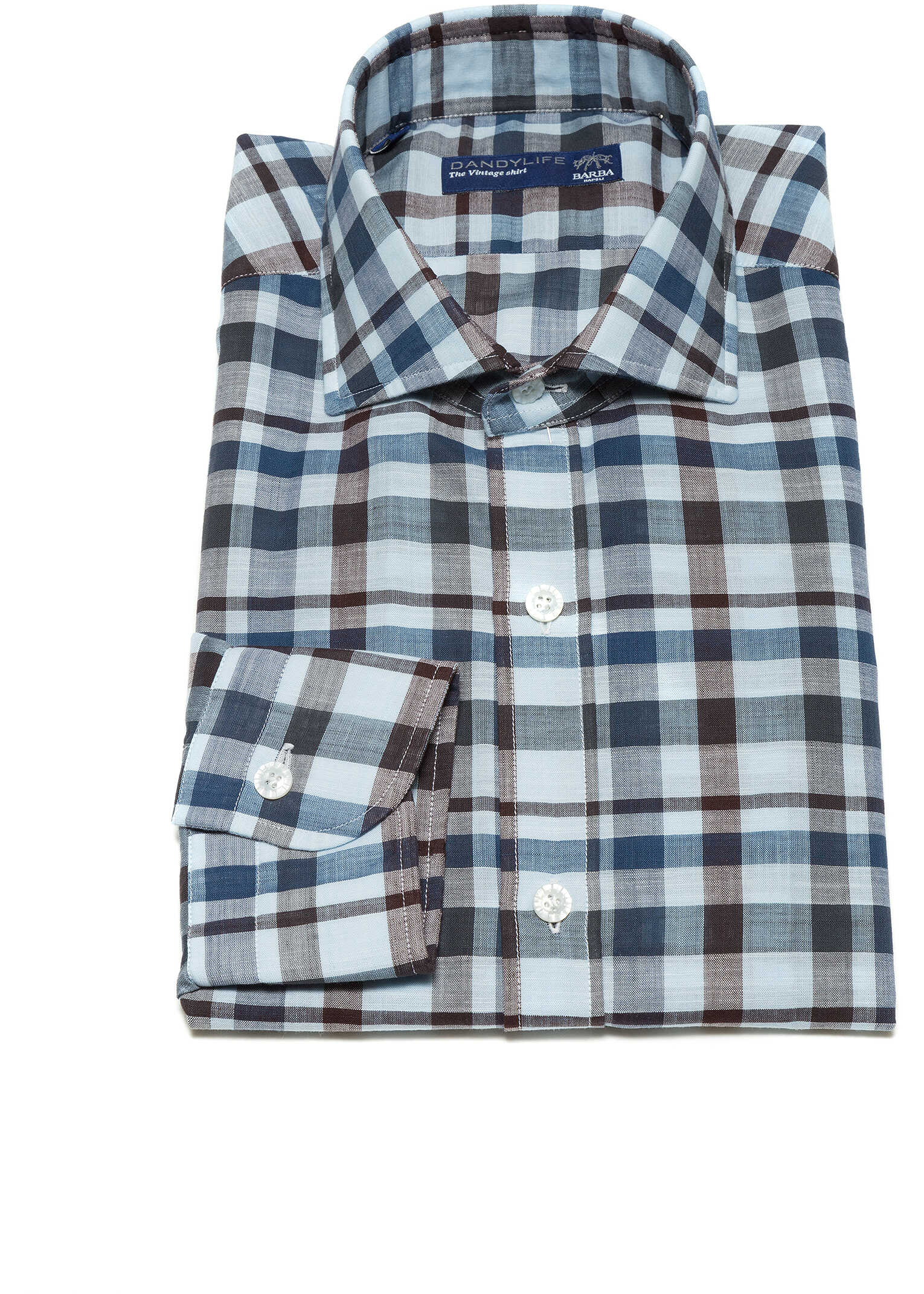 Barba Napoli Dandy Life Shirt* Quadri