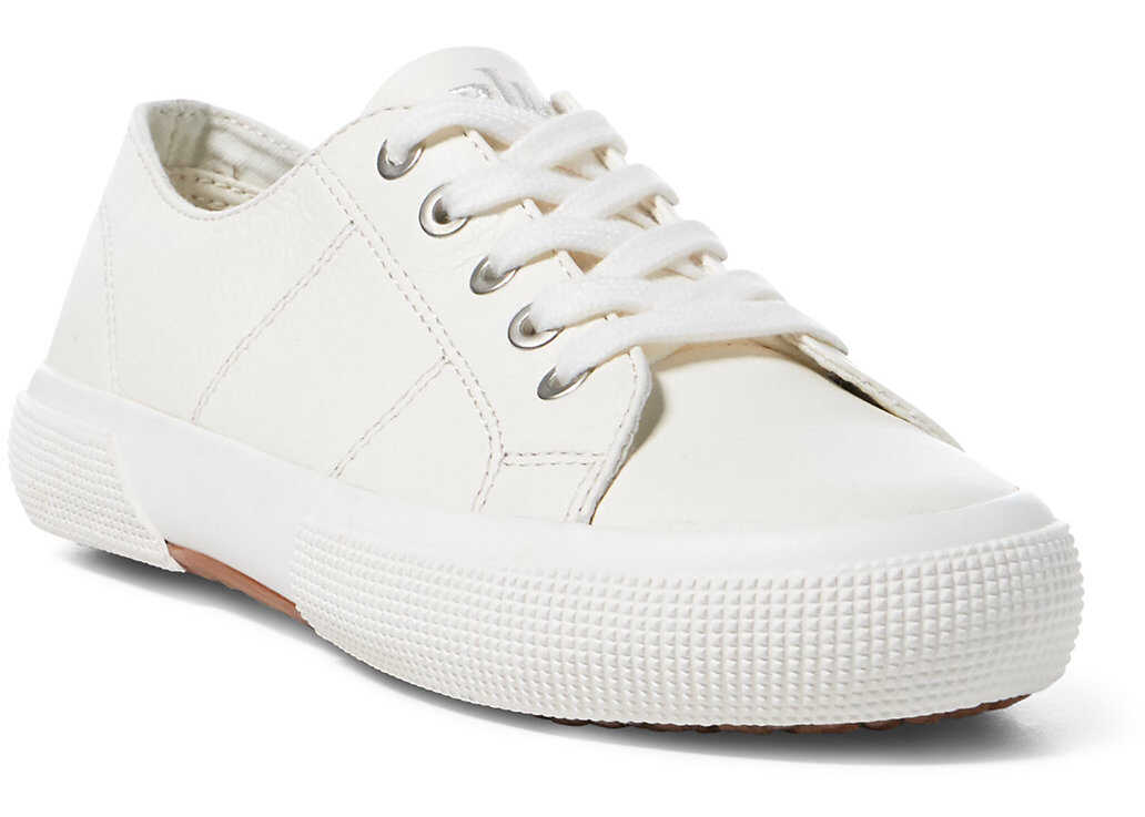 Ralph Lauren Jolie Leather Sneaker* Artists Cream