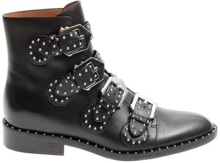 Givenchy Leather Boots Black
