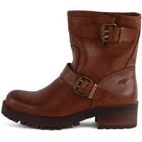 Ghete & Cizme Louis Biker Boots In Dark Brown* Femei