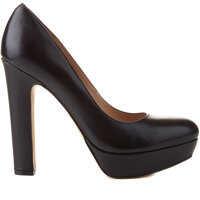 Pantofi cu Toc Leather pumps Femei