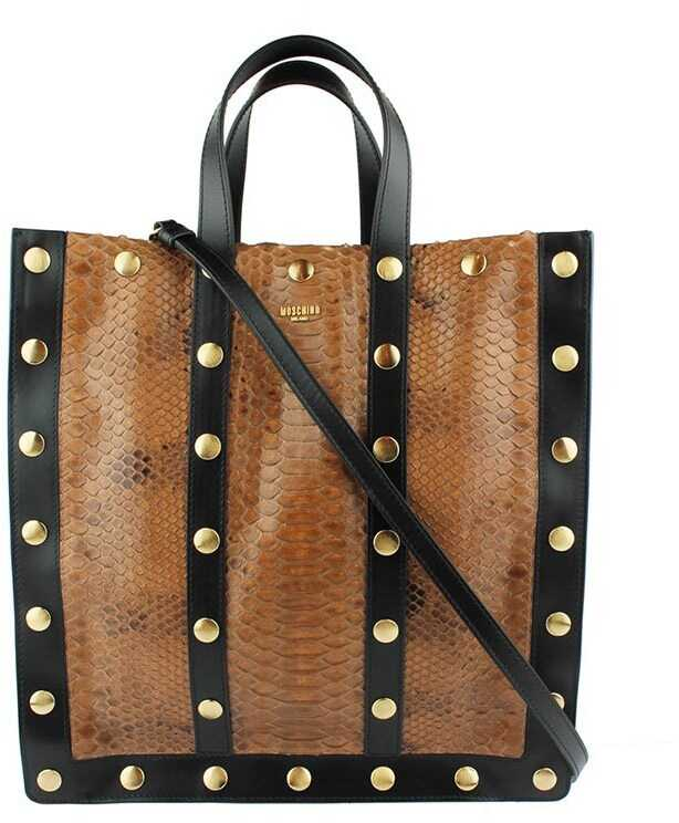 Moschino Handbag Brown