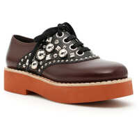 Incaltaminte Miu Miu Studded Leather Lace-Ups