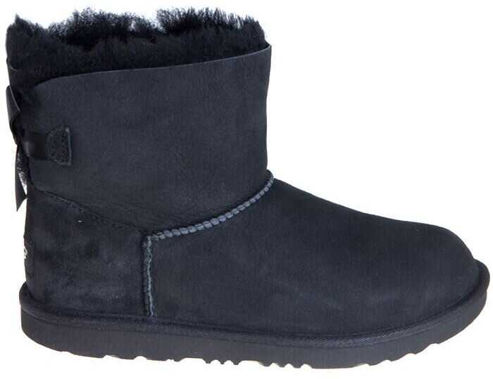 UGG K Mini Bailey Bow Ii Ankle Boots Black