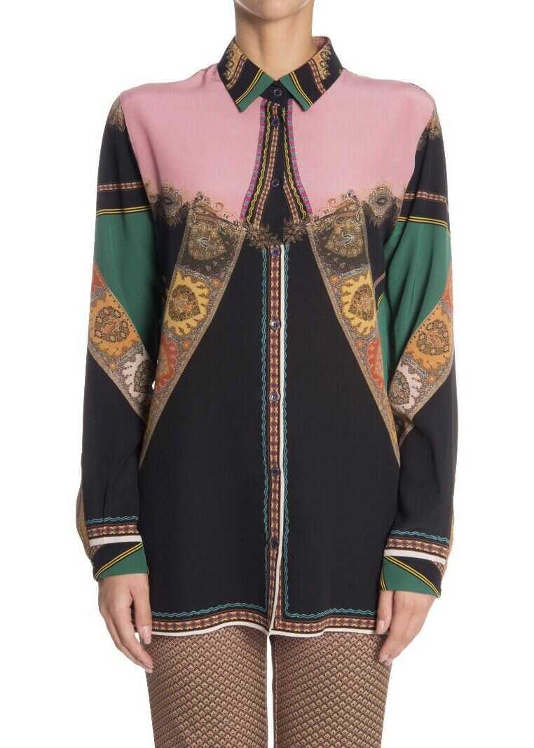 ETRO Silk Shirt Multi
