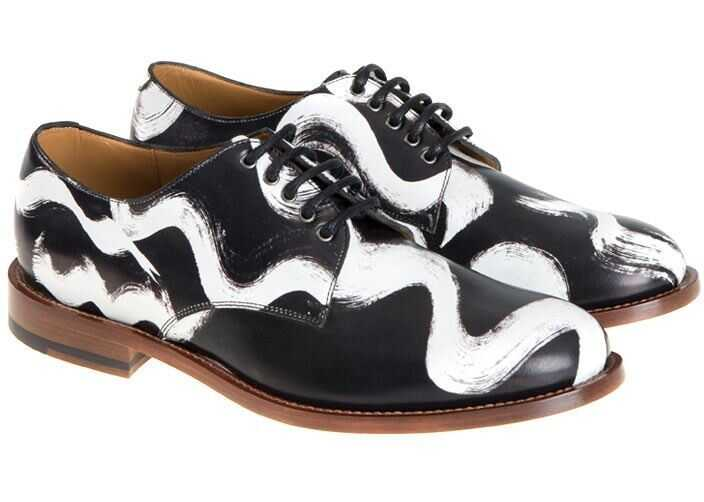 Vivienne Westwood Leather Derby Shoes Black