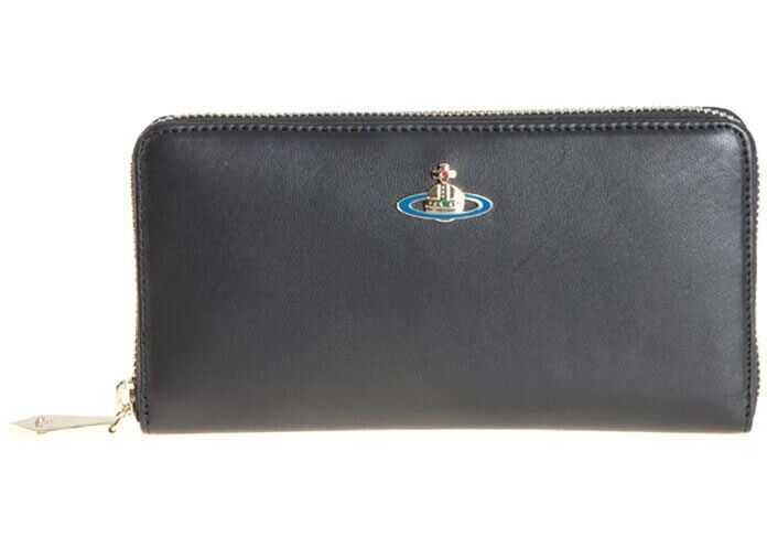 Vivienne Westwood Nappa Leather Wallet Black