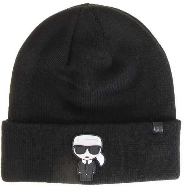 Karl Lagerfeld K/ikonik Karl Cap Black