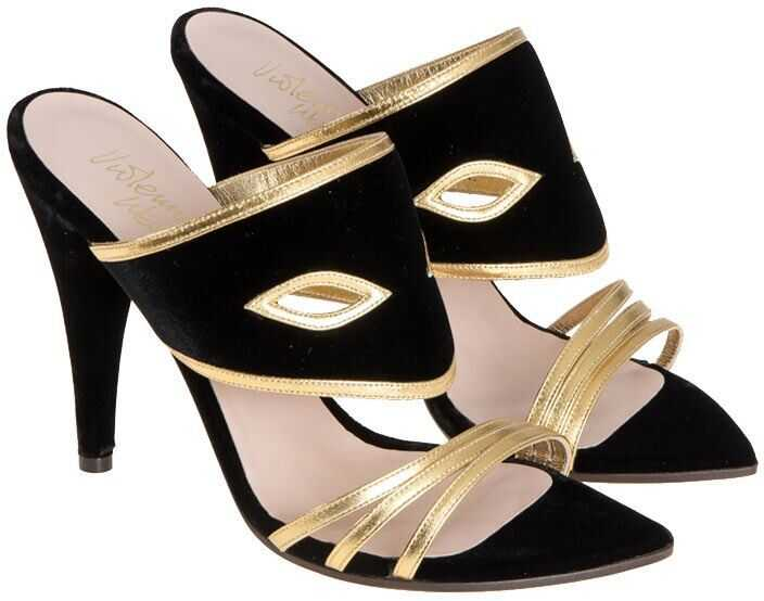 Vivienne Westwood Masque Sandals Black