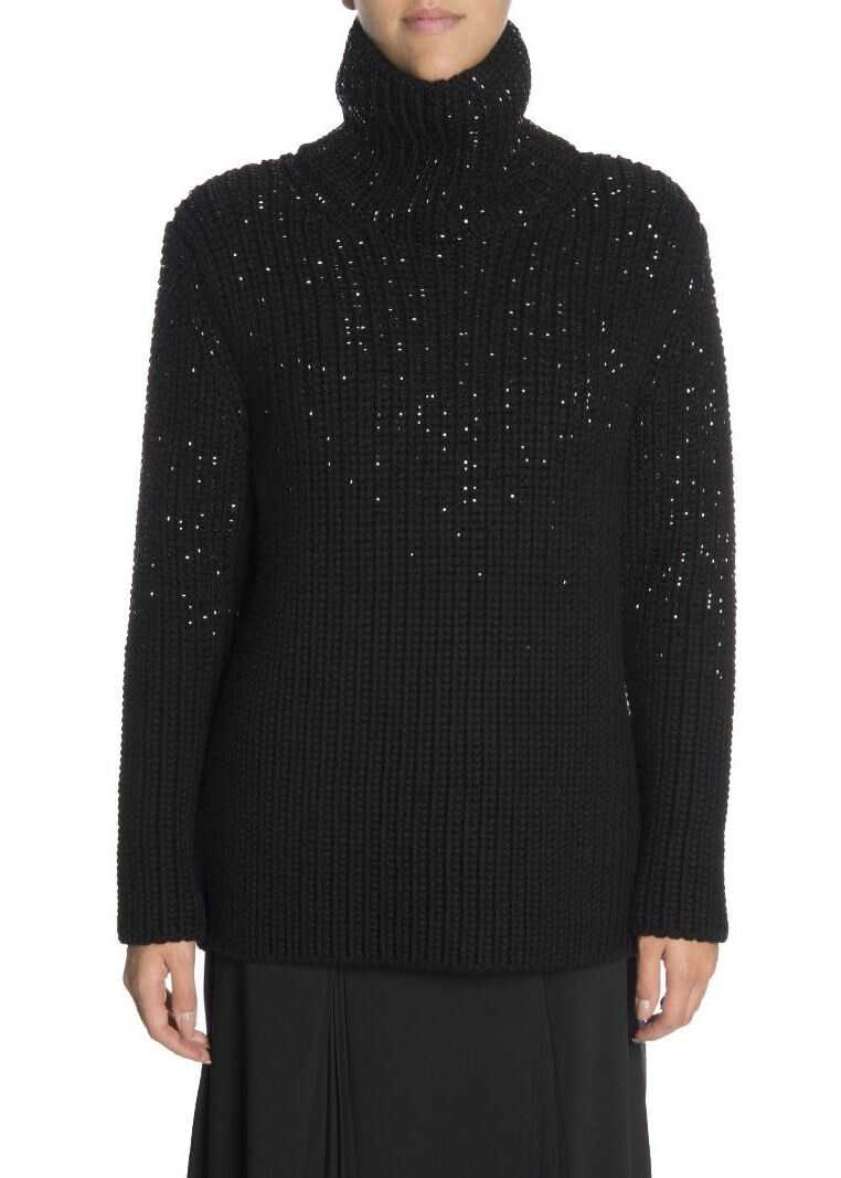 Ermanno Scervino Wool Sweater Black