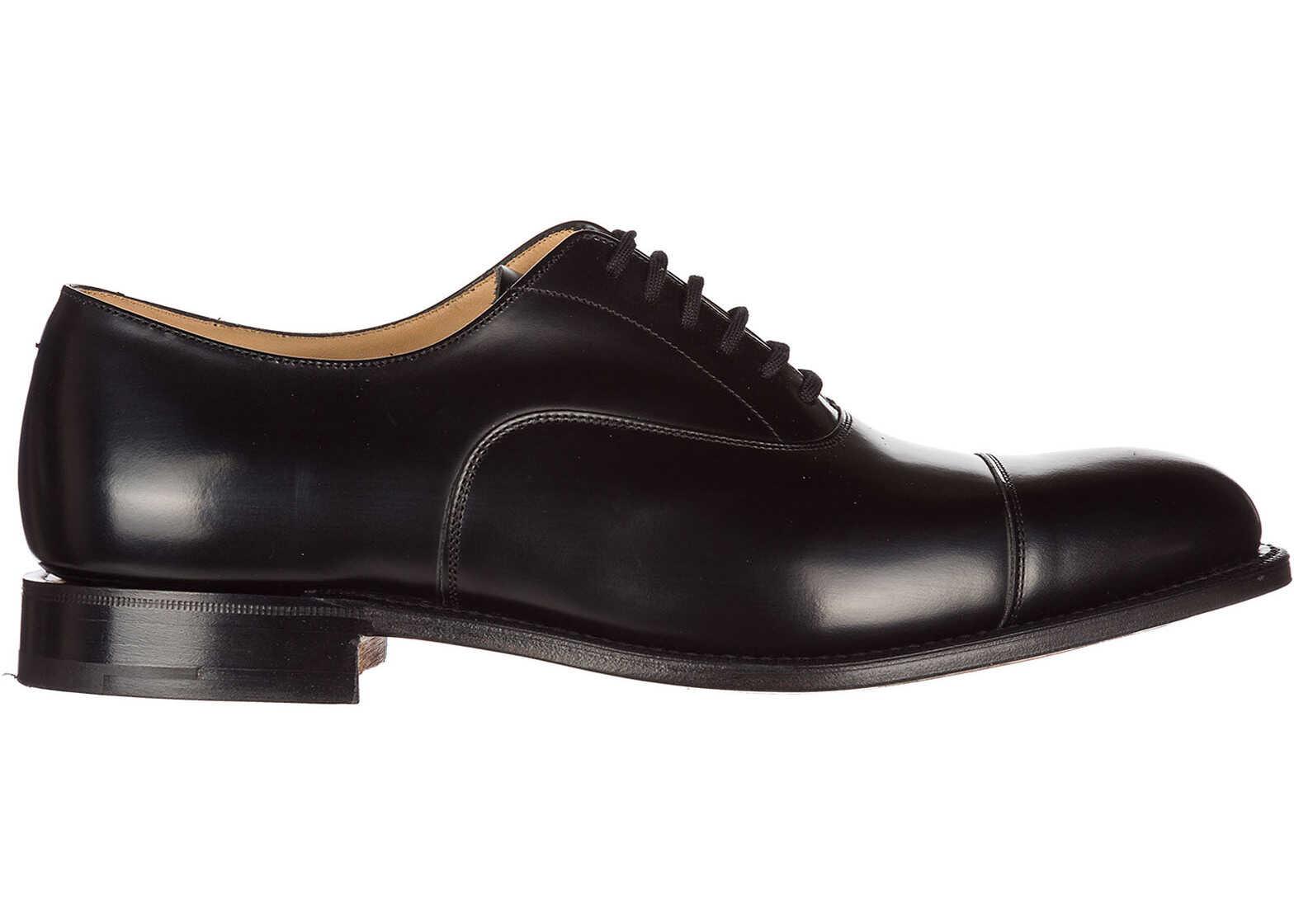 Church's Shoes Oxford DUBAI F0AAB Black imagine b-mall.ro