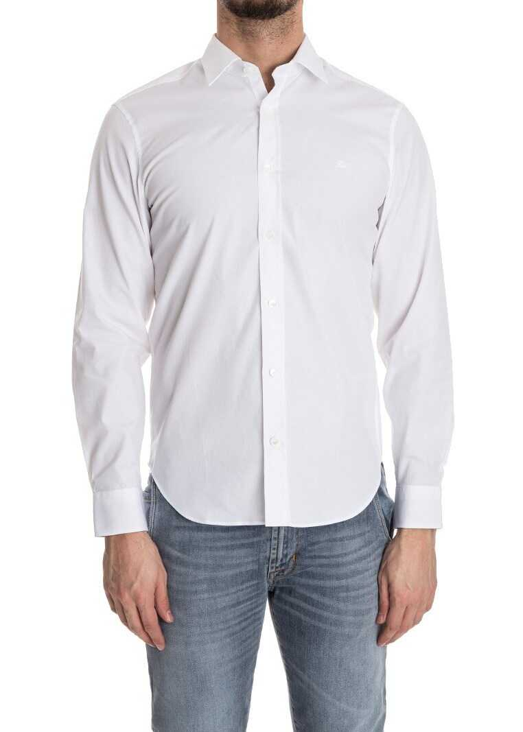 Burberry White Cambridge Shirt White