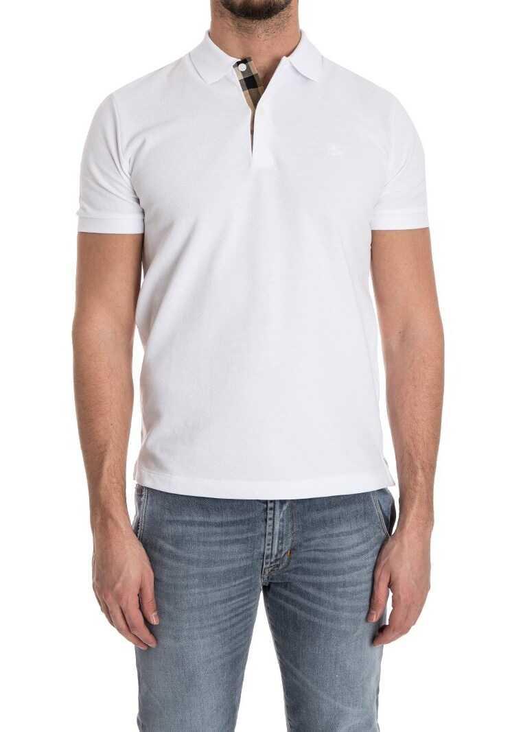 Burberry Cotton Polo White