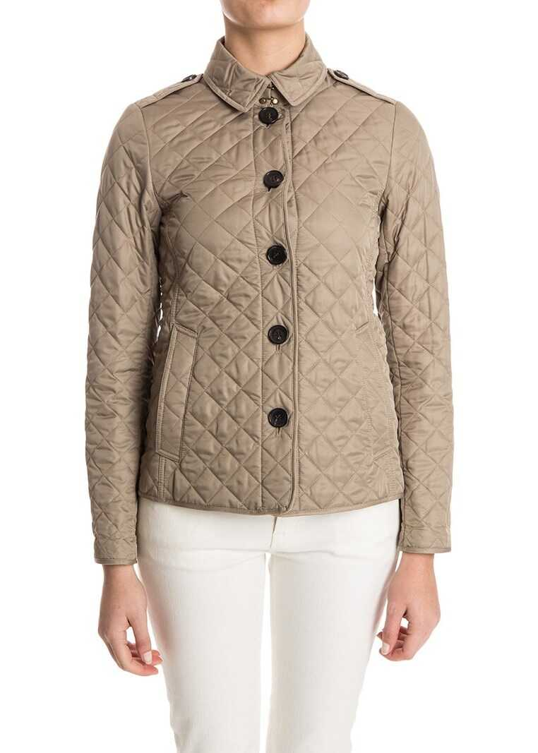 Burberry Quilted Jacket Beige