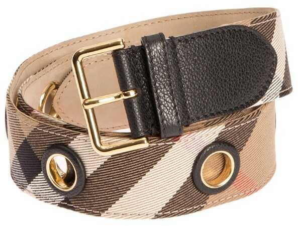 Burberry Eyelet Belt Beige