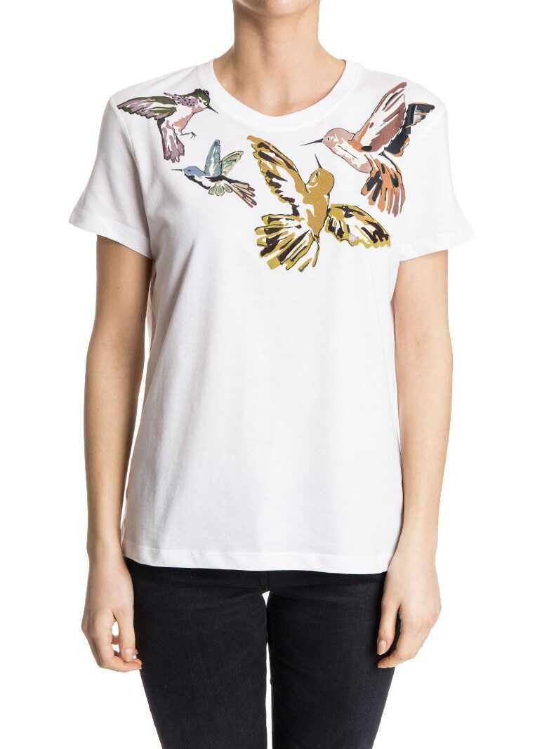 RED VALENTINO Roundneck T-Shirt White