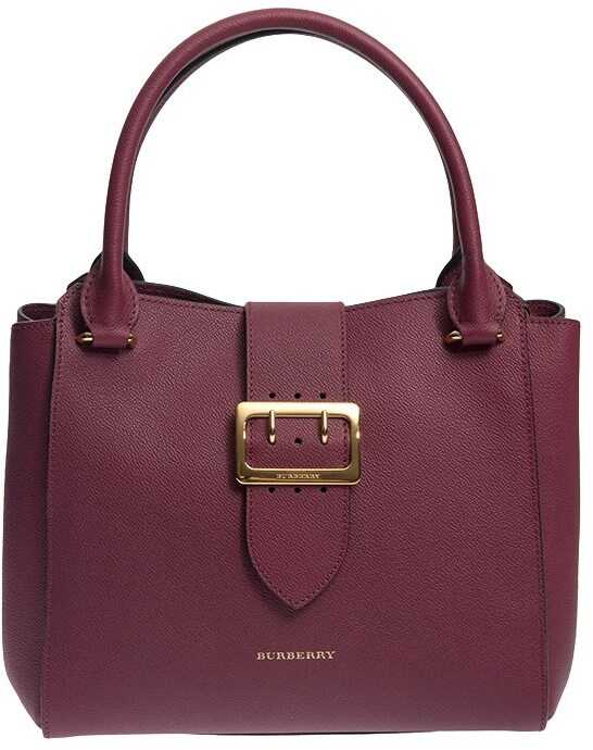 Burberry The Buckle Medium Tote Bag Red