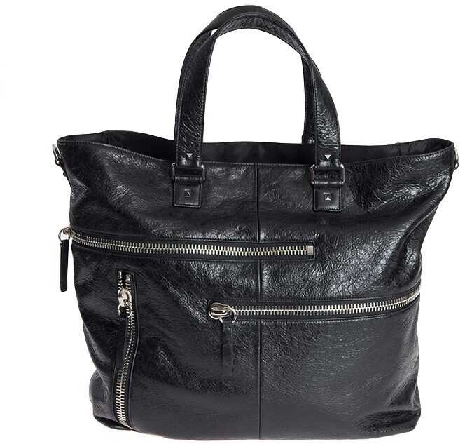 Valentino Garavani Leather Bag Black