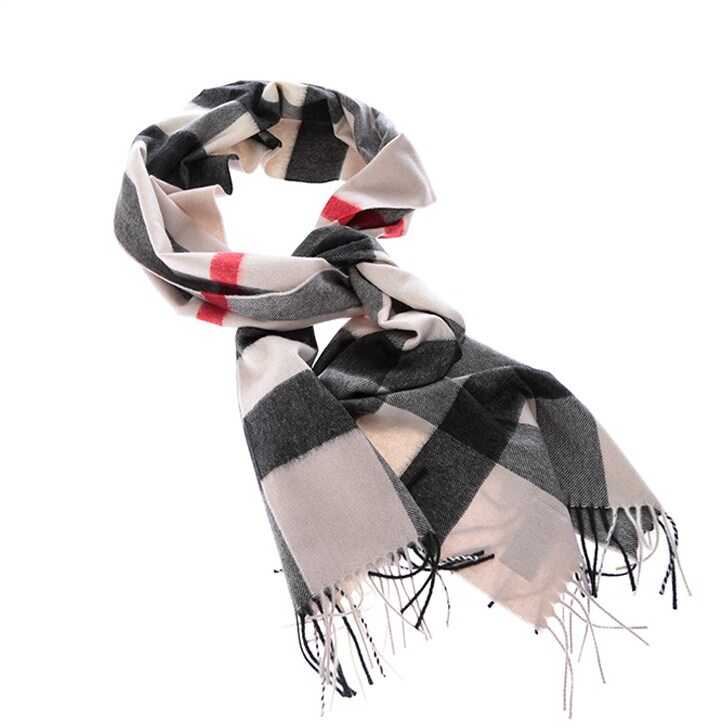 Burberry Cashmere Scarf White