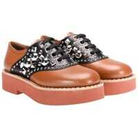 Pantofi Miu Miu Leather Shoes