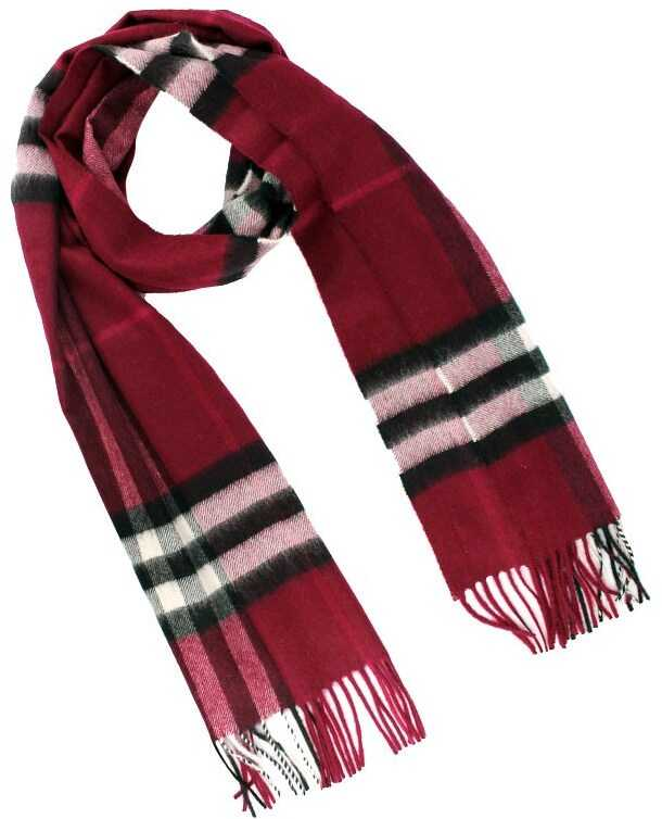 Burberry Cashmere Scarf Red